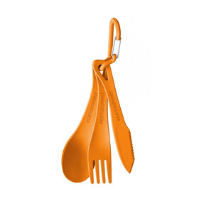 Sea to Summit Delta Cutlery Set orange